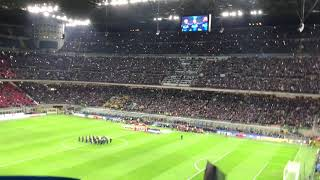 How to sing a National anthem   Italy-Sweden 13/11/2017