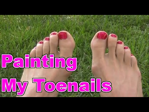 Not Painting Toenails  Fashion