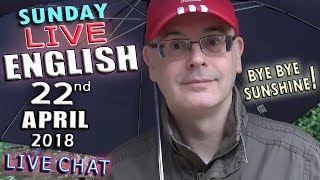 Learning English Live - 22nd April 2018 - Prize Meanings - Ladybird Facts - Grammar - Chat