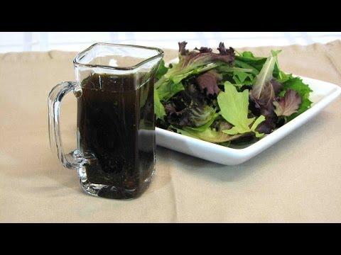 Homemade Balsamic  Vinaigrette Salad Dressing -- Lynn's Recipes
