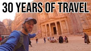30 YEARS OF TRAVEL | 65 Countries | 5 Continents