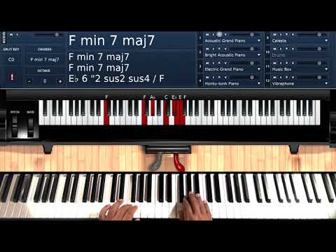 A Dream (by DeBarge) - Piano Tutorial