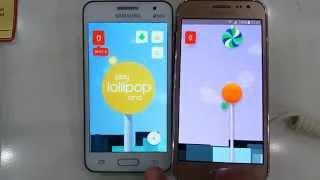 Galaxy Core 2 vs Galaxy J2 Lollipop Rom