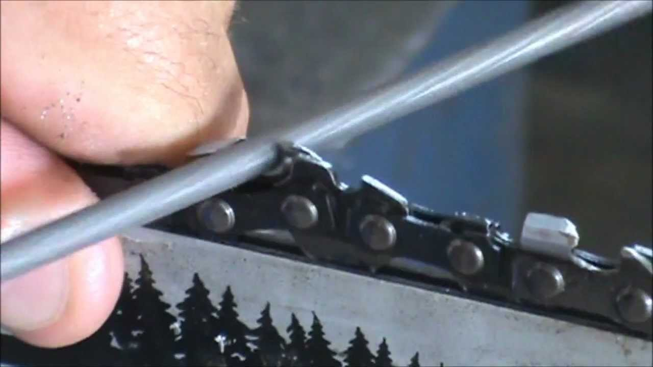 How To Sharpen Chainsaw Chain With Electric Sharpener