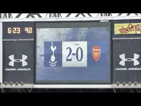 SpursvArsenal - final North London derby at the Lane - the songs