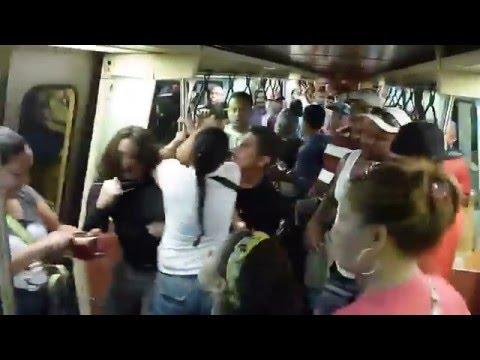 Intento de robo Metro de Caracas Línea 3 - Viernes Santo