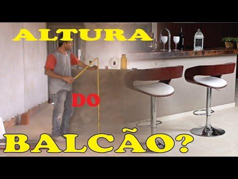 APRENDAM A ALTURA IDEAL DO BALCÃO QUE DIVIDE COZINHA E SALA