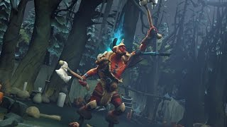 DoTa 2 How To Jungle Troll Warlord patch 6.86