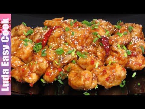 Самое вкусное КИТАЙСКОЕ БЛЮДО! КУРИЦА по-китайски в апельсиновом соусе TASTY CHINESE ORANGE CHICKEN