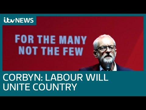Labour leader Jeremy Corbyn address party supporters at Manchester rally | ITV News
