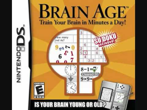Brain Age: Train Your Brain in Minutes a Day! - Title Theme