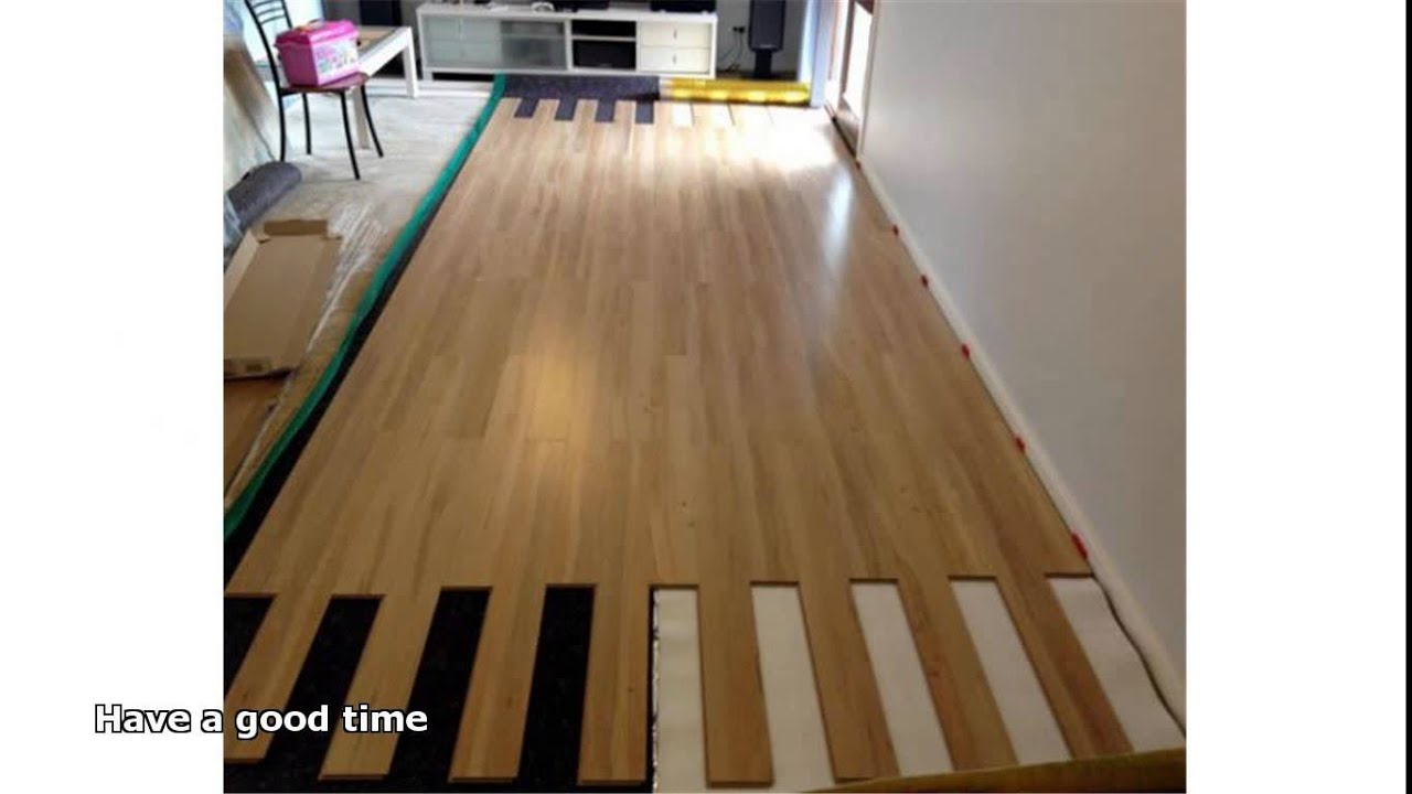 Hardwood Underlayment Youtube