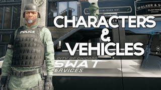 Watch Dogs - Characters & Vehicles Mod!