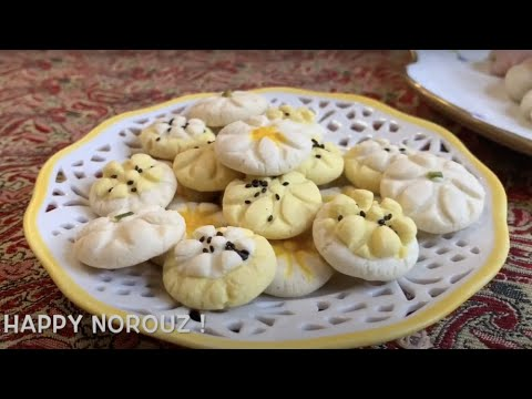 How to Make Persian Pastry for Norouz by Roshanak Yousefian (Popilee Pastries) - IN ENGLISH