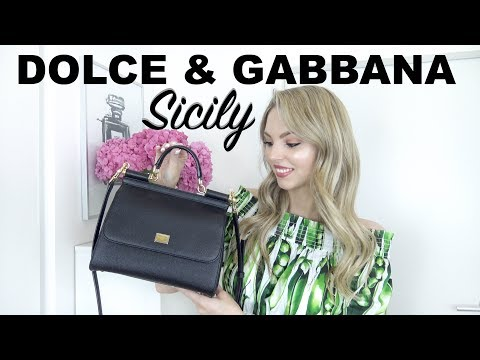DOLCE & GABBANA SICILY BAG REVIEW