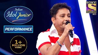 Sukhwinder Singh Performs On His Famous Song 'Chaiyya Chaiyya' | Indian Idol Junior 2