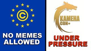 ARTICLE 13 THAT BANS MEMES IN EU PASSED! CON SUPPORTING VIC MIGNOGNA UNDER PRESSURE!