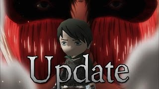 Attack on Titan Tribute Game Update: Character Cutomization