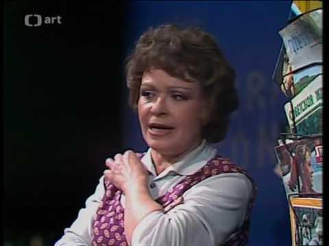 Jiří Hubač: Dům na nebesích (představení 1980) - h.Jiřina Bohdalová