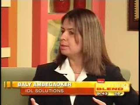 IDL and SBA on Morning Blend TV