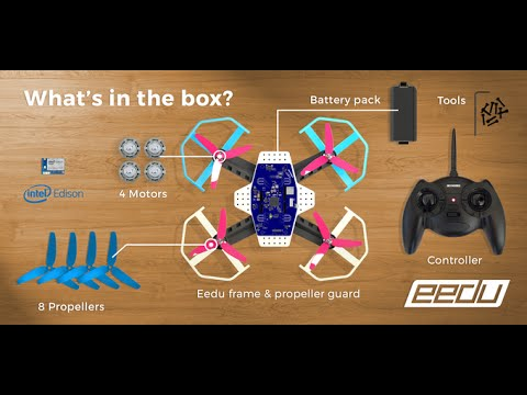 Future Technology : EEDU - Programmable Drone Starter Kit by Intel