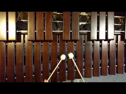 How to play Happy Birthday on xylophone or marimba