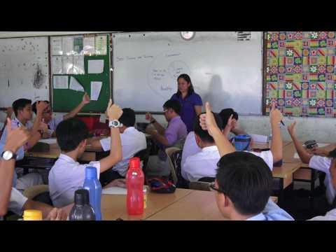 Edward De bono teaching class by Teacher Olivia