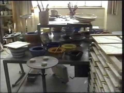 The german period of Vietri sul mare ceramics - le ceramiche del periodo tedesco a Vietri sul Mare