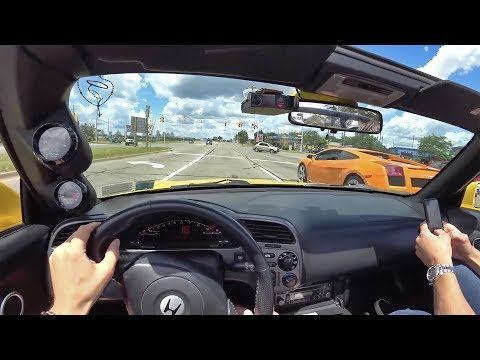 Driving The Perfect 2003 Supercharged S2000 - POV Binaural Audio