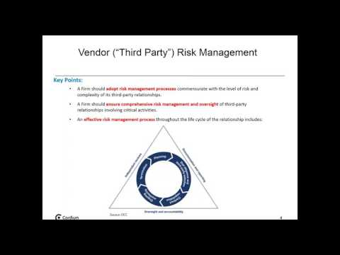 Vendor Third Party Risk Management
