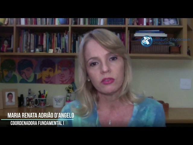 Imaculada Virtual - Coordenadora Fundamental I - Maria Renata