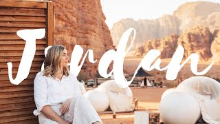 I Traveled Through Jordan | Petra at Night, Bubble Tents, Dead Sea, Wadi Rum Desert