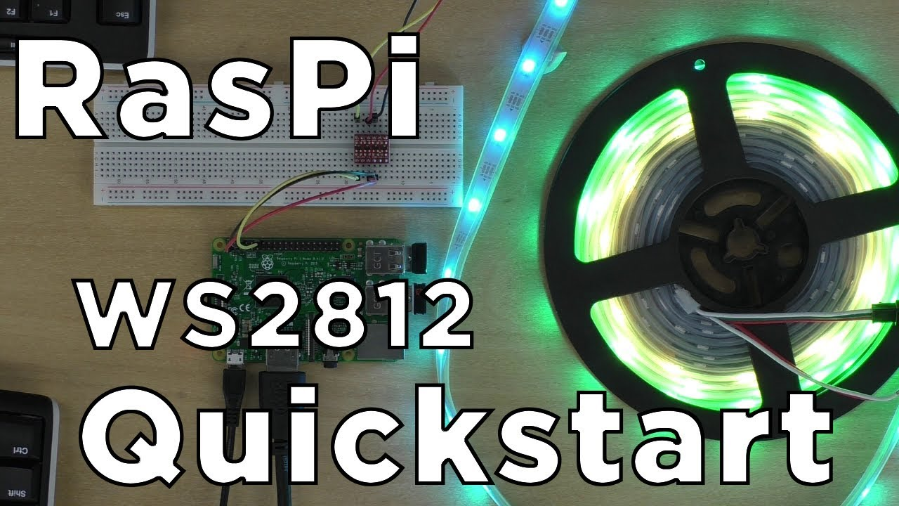 How to use WS2812B RGB LEDs with Raspberry Pi