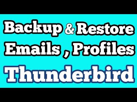 Manually Backup And Restore Emails, Profiles In  Mozilla Thunderbird On Ubuntu 14.04 | 15.04