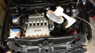 R32 GOLF IV démontage moteur R32 Louloumobile