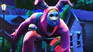 RABBIT RAIDER HORROR! | A Fortnite Film (BUNNY BRAWLER ORIGIN STORY)