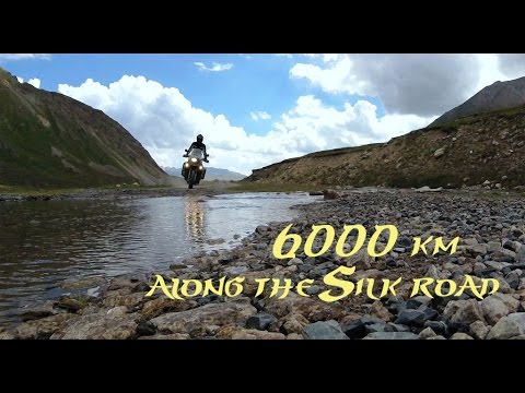 Motorcycle Adventure Central Asia - 6000km Along the Silk Ro