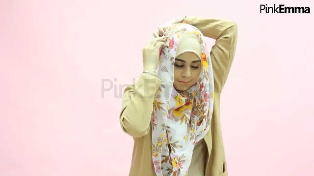 Tutorial Hijab Risty Tagor Menutup Dada Praktis Dengan Pashmina