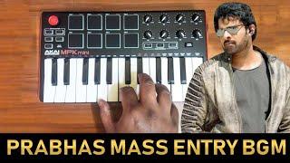 Saaho - Prabhas Mass Entry Bgm By Raj Bharath   Ghibran