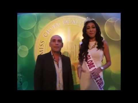 CHICAS PINK TV EN EL MISS GLOBE 2014
