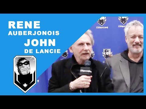 René Auberjonois & John de Lancie Interview at Ottawa Comiccon 2016