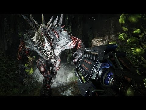 Evolve PC Gameplay 1080p HD Developer Gameplay 4v1 Interactive Walkthrough