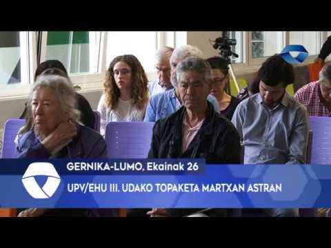 Gernika-Lumoko UPV-EHU III. Udako Topaketa martxan