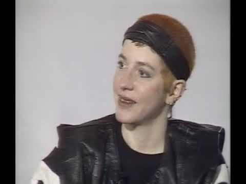 Kathy Acker at the ICA, 1986