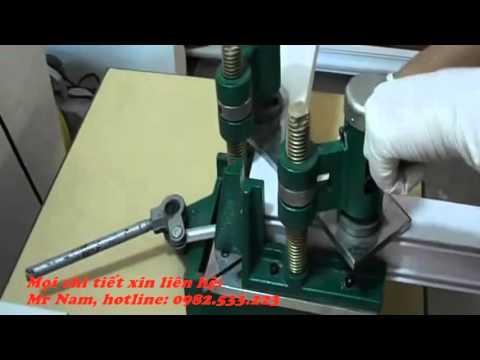 Máy Hàn Cửa Nhựa Cầm Tay, Máy Làm Sạch Góc Hàn Cầm Tay. LH 0982.533.223