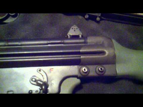 CETME Rifle With G3 Stocks