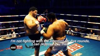 The former enfusion heavy weight world champion ismael lazaar is going to fight 'the king of kickboxing' rico verhoeven on 20th may 2017.'the tank' vs...