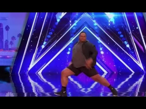 Thumbnail: Oscar Hernandez: a BIG GUY with Some Swagger | Auditions 3 | America's Got Talent 2017