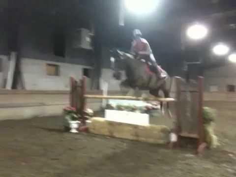 Alexa and Miles jumping II