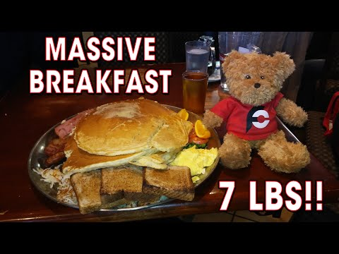 7LB Ultimate BREAKFAST Challenge in CANADA!!
